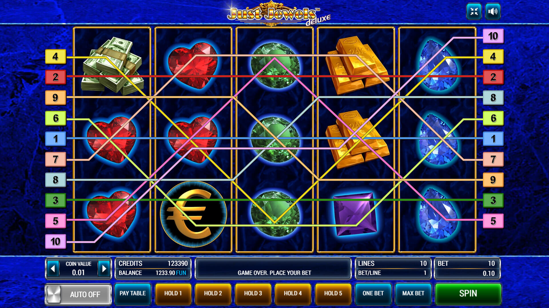 игровые автоматы just jewels deluxe